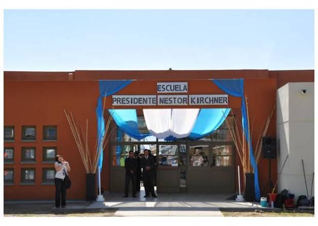 Escuela Pte Kirchner en San Juan