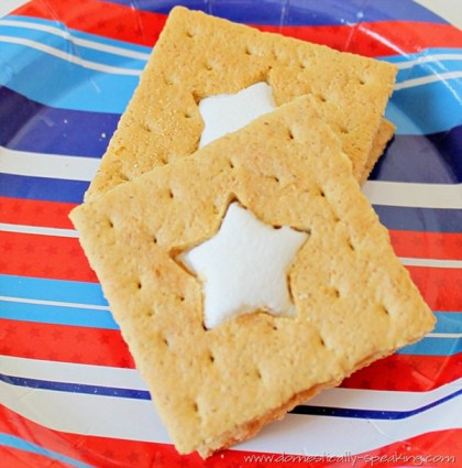 Make S'More with fun cut-outs ~ Domestically Speaking