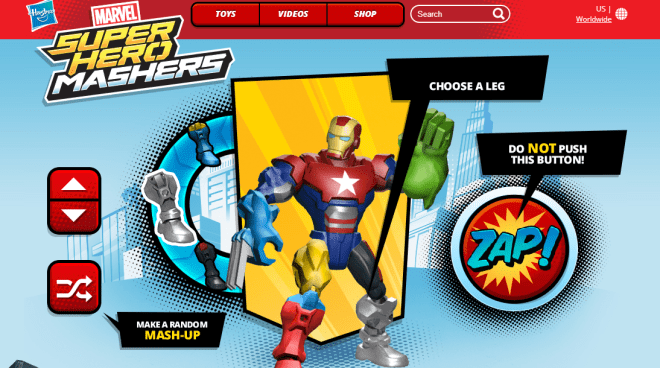 Marvel Super Hero Masher