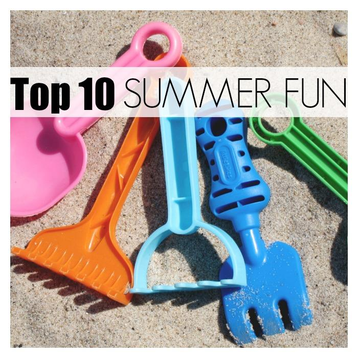Top 10 ideas for Summer fun with kids!