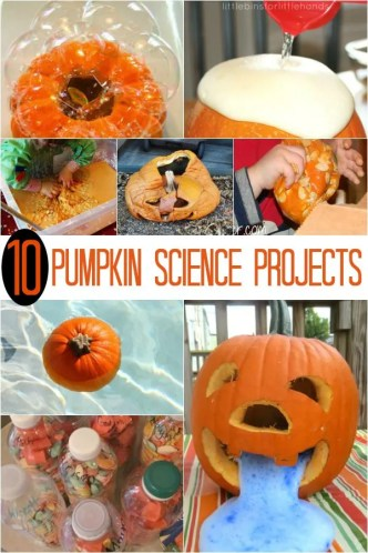 Hands-on science projects for kids using real pumpkins! FUN Halloween science!