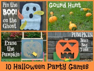 10 FUN and quick Halloween party games