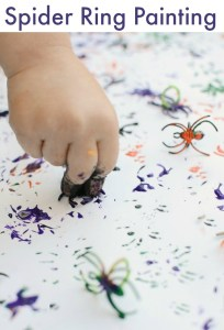 Spider Ring Painting