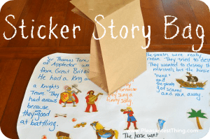 Sticker Story Bag: Creating Stories