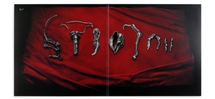 'Dead Ringers' gatefold artwork by Randy Ortiz