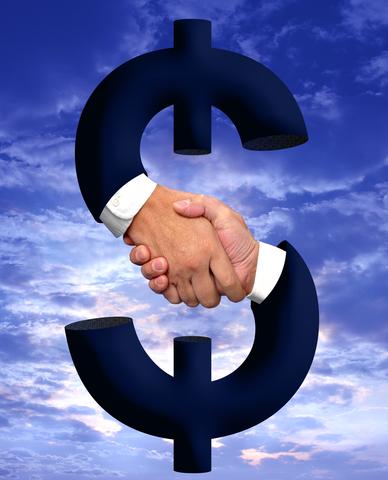 dollar-handshake