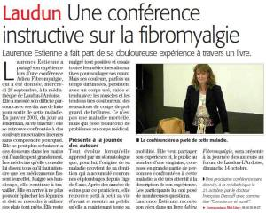 Article Midi Libre Conférence Laudun 26 sept 2018