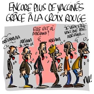 La vignetta apparsa su Agoravox