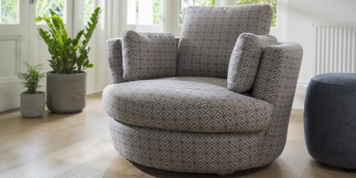 Medium Of Cuddle Chair With Ottoman