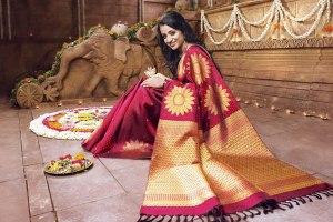 Kanchivaram and Silk Sarees in USA