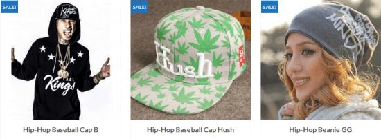 hiphop caps