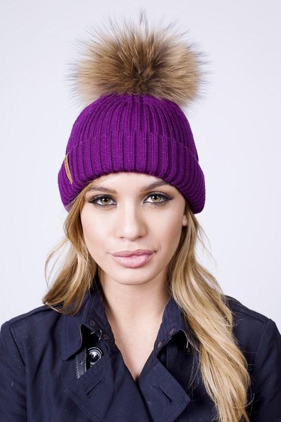 fur bubble hat