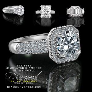 The Best Simulated Diamond Jewelry by Diamond Veneer