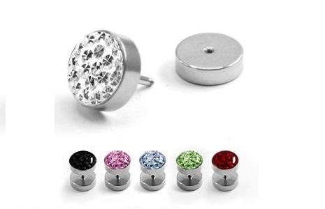 piercing-fake-plug-silver-epoxy-cover-crystal