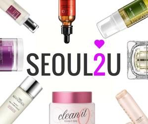Vast Range of Skincare products by Seoul2U