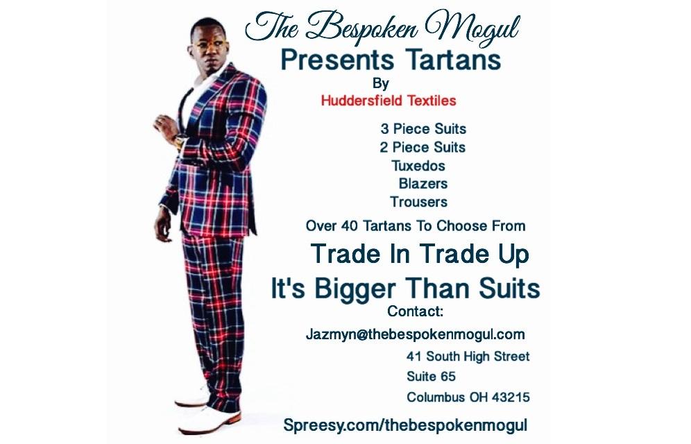 The Bespoken Mogul Presents Tartans by Huddersfield Textiles