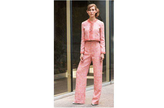 Bursts of Color and High Fashion Pantsuits