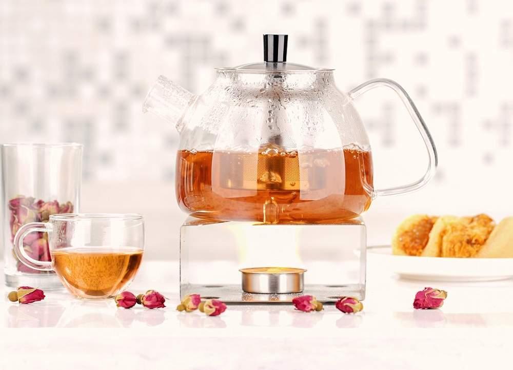 Stylish and User friendly Ecooe Glass Teapot