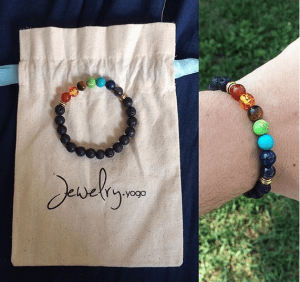 Keep Stress Out of Your Lives with Real Stones Beads Jewelry and Yoga