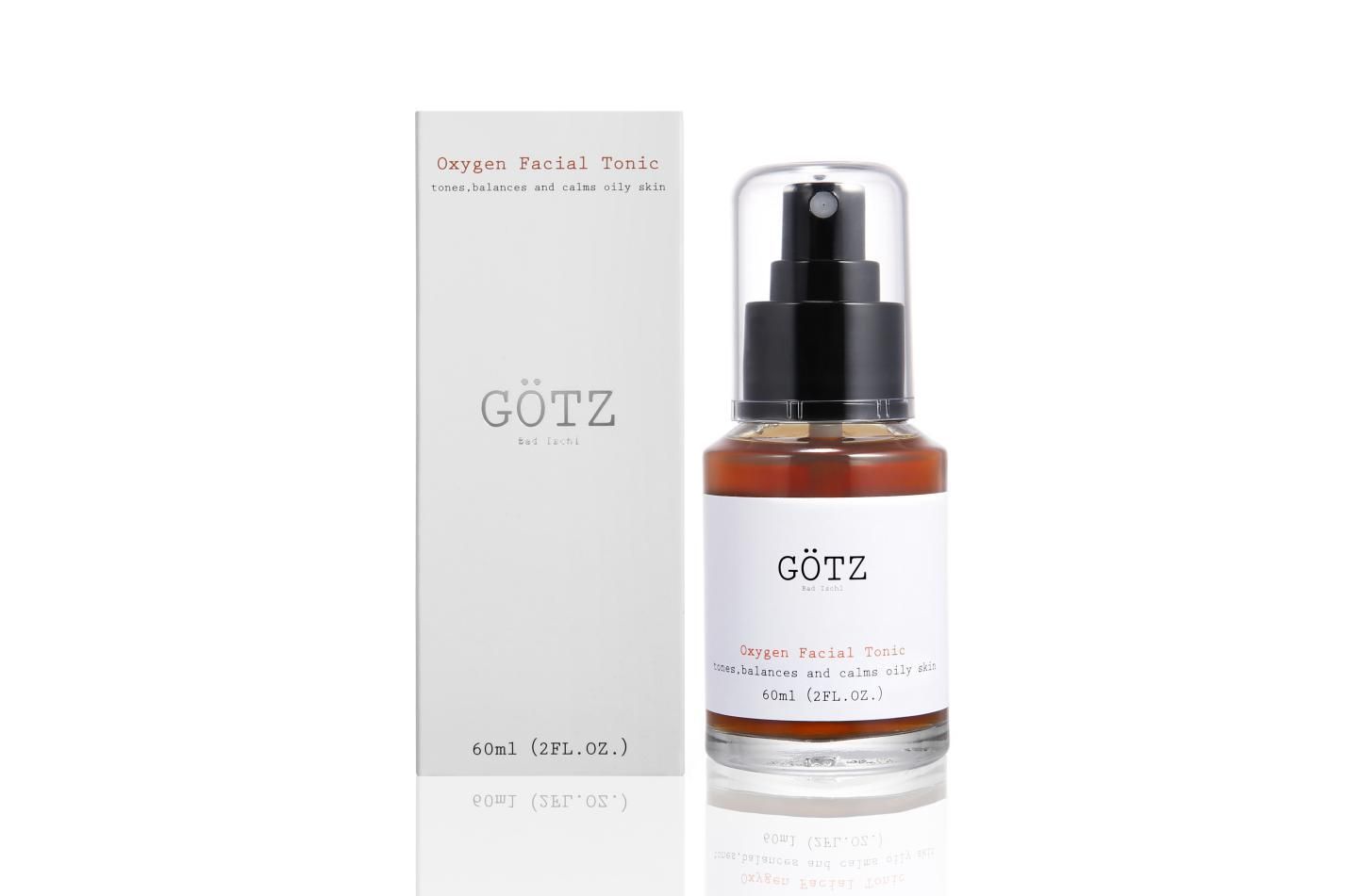 Oxygen Facial Tonic by Götz Bad Ischl will make your skin smooth