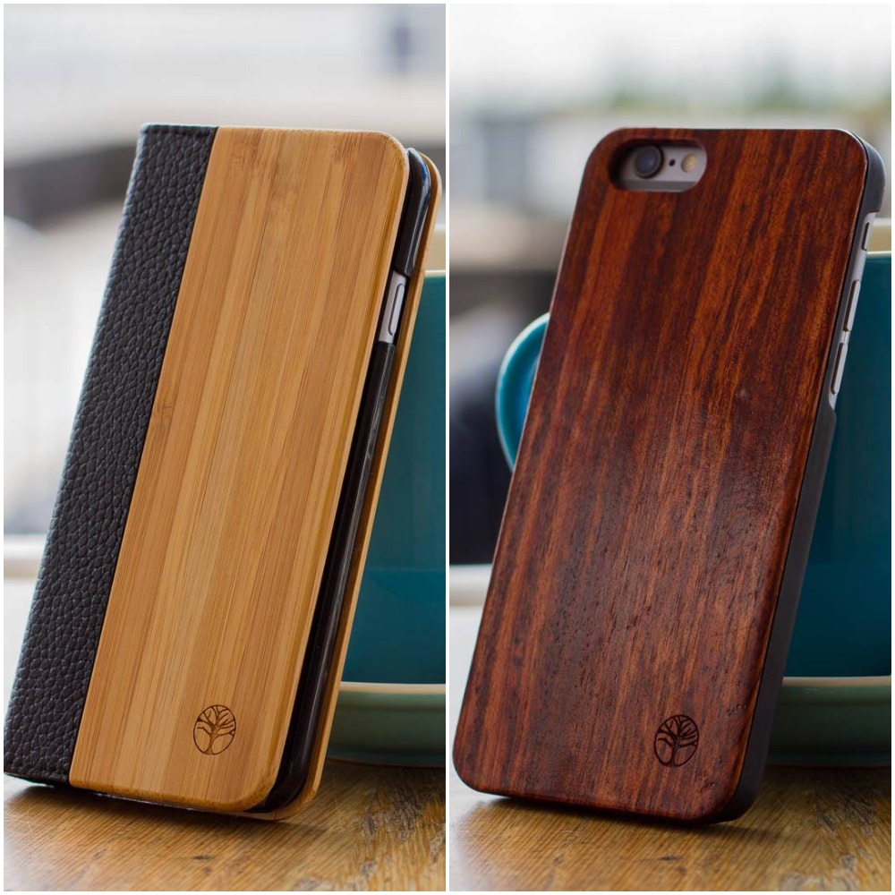 Simple yet attractive wood iPhone Cases
