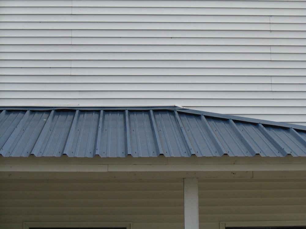Different types of metal roofs progressive materials for Types of roofing