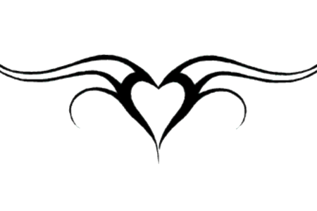 heart tattoos png