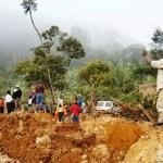 Tumbi Landslide site