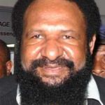 ...the then PNG Deputy Prime Minister.