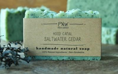 Hood Canal Saltwater Cedar Soap GIVEAWAY… Happy Traveler Days!