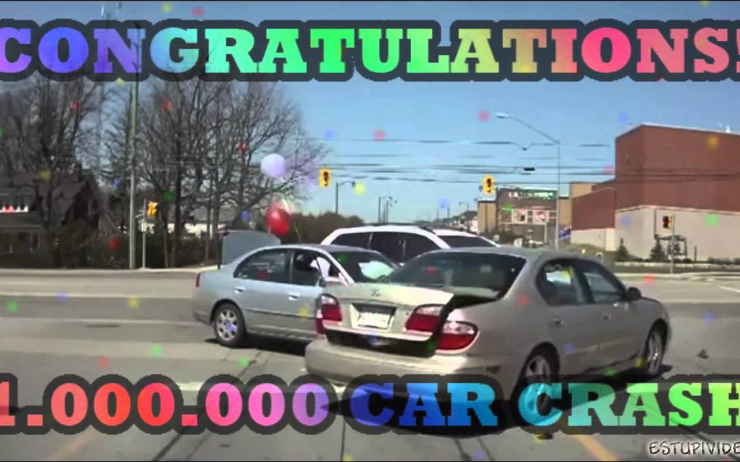 Congratulations! You are the 1.000.000 car crash!!!