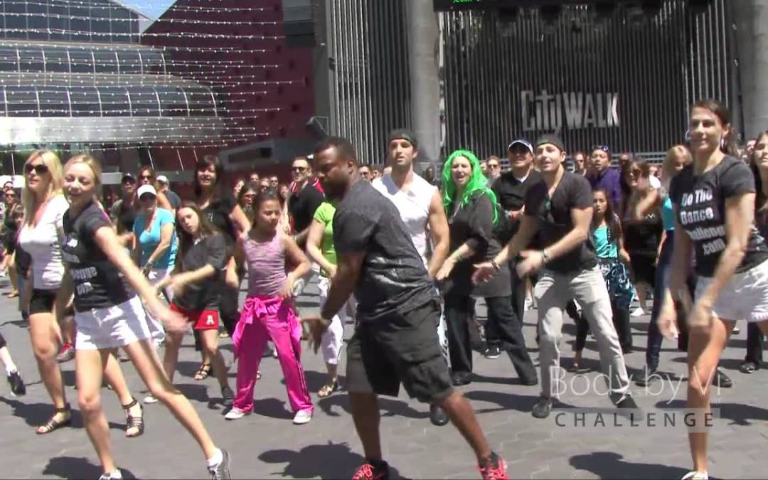 El FlashMob de Carlton Banks