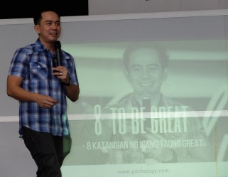 The VoiceMaster Talks About Success in his Talk 8 TO BE GREAT