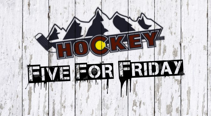 Five for Friday – Hockey related links worth sharing – Inspiration Edition