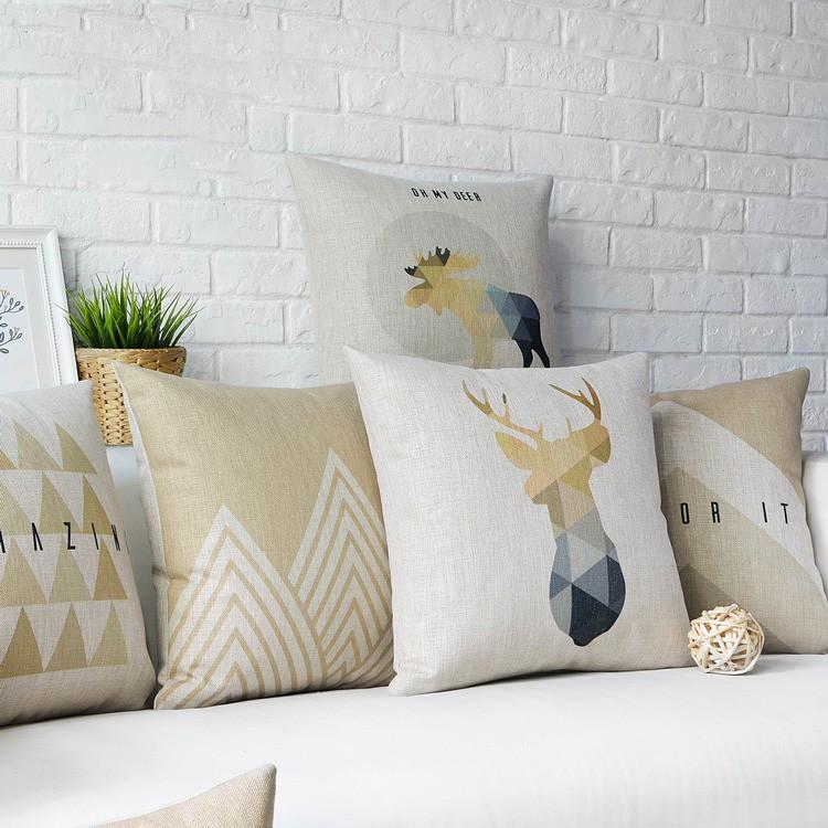 Poduszki dekoracyjne minimalizm, na kanapę