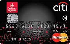 Citibank World Mastercard