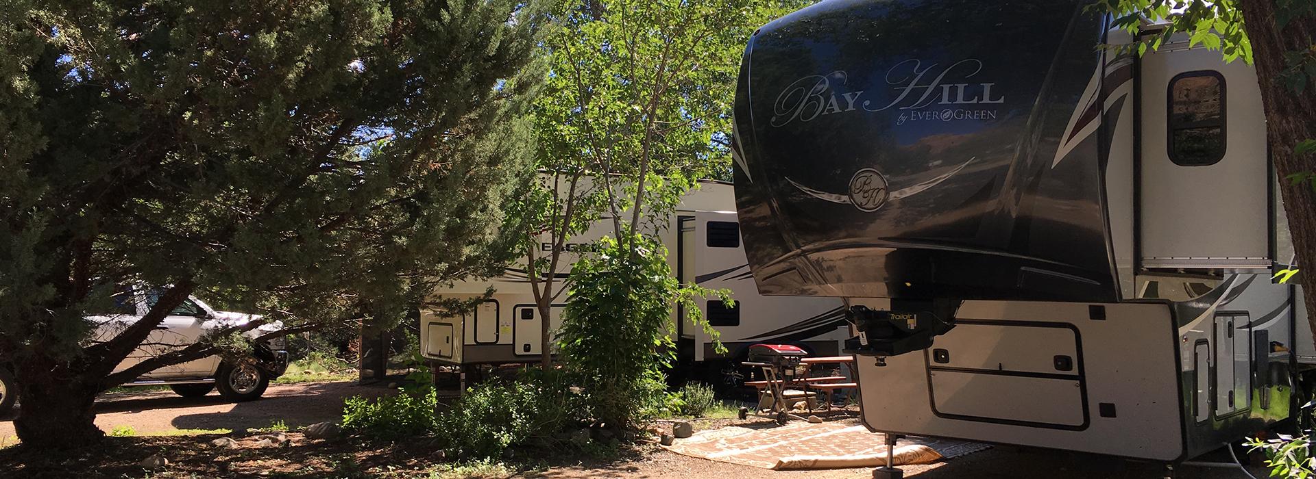Point of Rocks RV Park Campground in Prescott Arizona