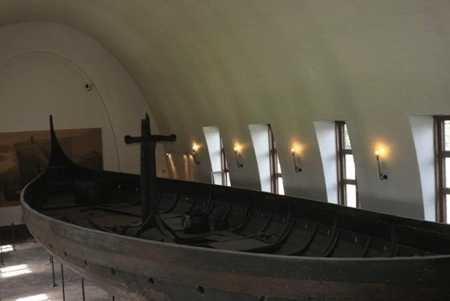 A Viking Queen:  Viking Ship Museum, Oslo
