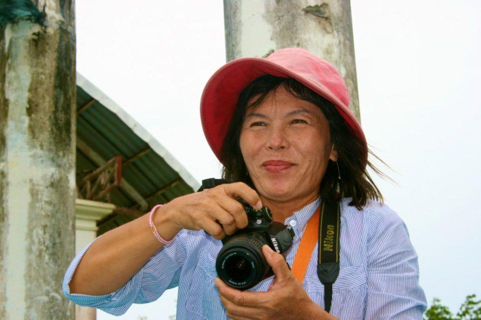 Thailand Photographer at the docks to James Bond Island