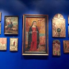 Santa Fe Plaza, Things to do in Santa Fe, Santa Fe Art, native american art, retablo