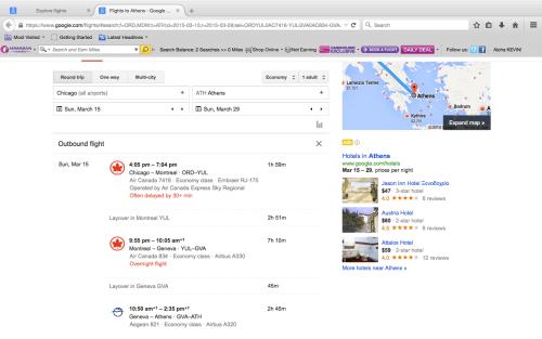 google flight explorer