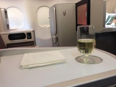 iberia business class champagne