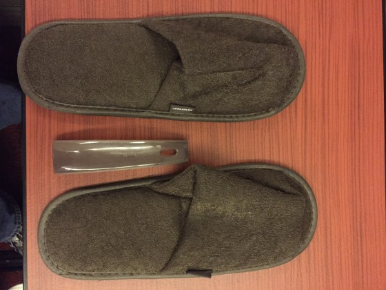 Japan airlines first class f JAL Slippers