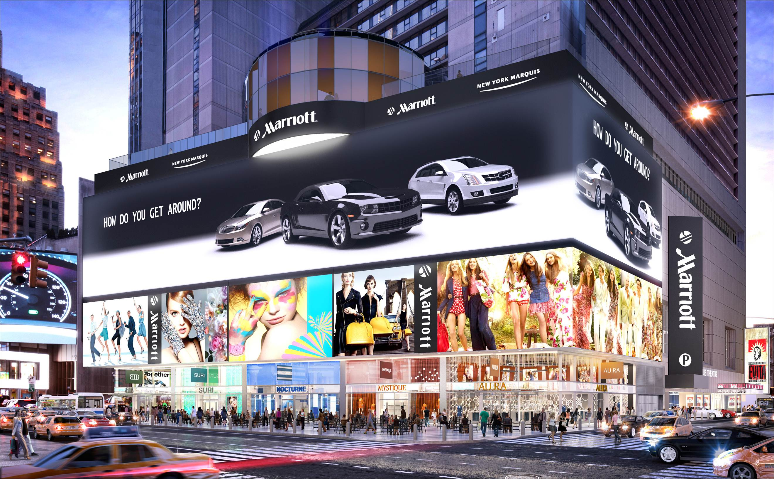 Hotel Review New York Marriott Marquis Times Square