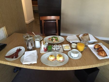 park hyatt washington dc room service breakfast