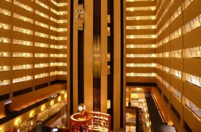 Marriott Marquis elevators