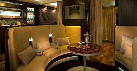 etihad first class a380 apartment lobby bar