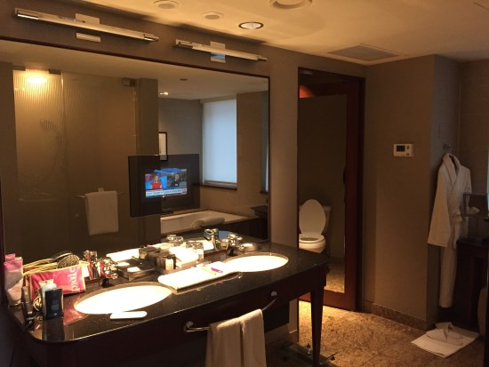hotel review park hyatt Chicago grand executive suite lou malnati water tower michigan avenue