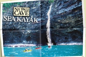 Sea kayak tour with Outfitters Kauai