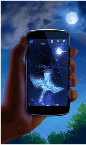 Mobile Camera- Helps to gaze stars